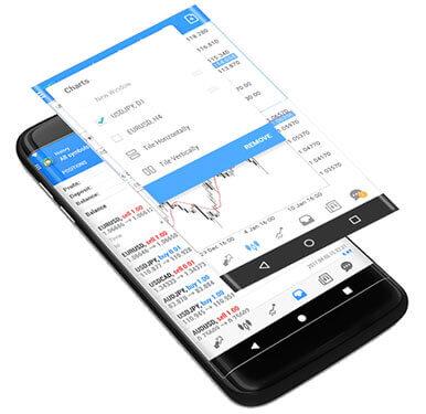 XM MT4とMT5アンドロイドスマホ (Android) 対応アプリ