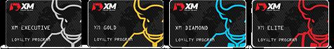 XMトレーディングロイヤルティプグラムのステータス